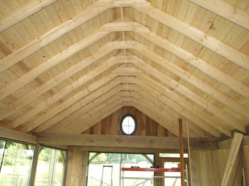 Galerie photos houten constructies en chalets nicolas fabrice zottegem - Deco chalet hout ...